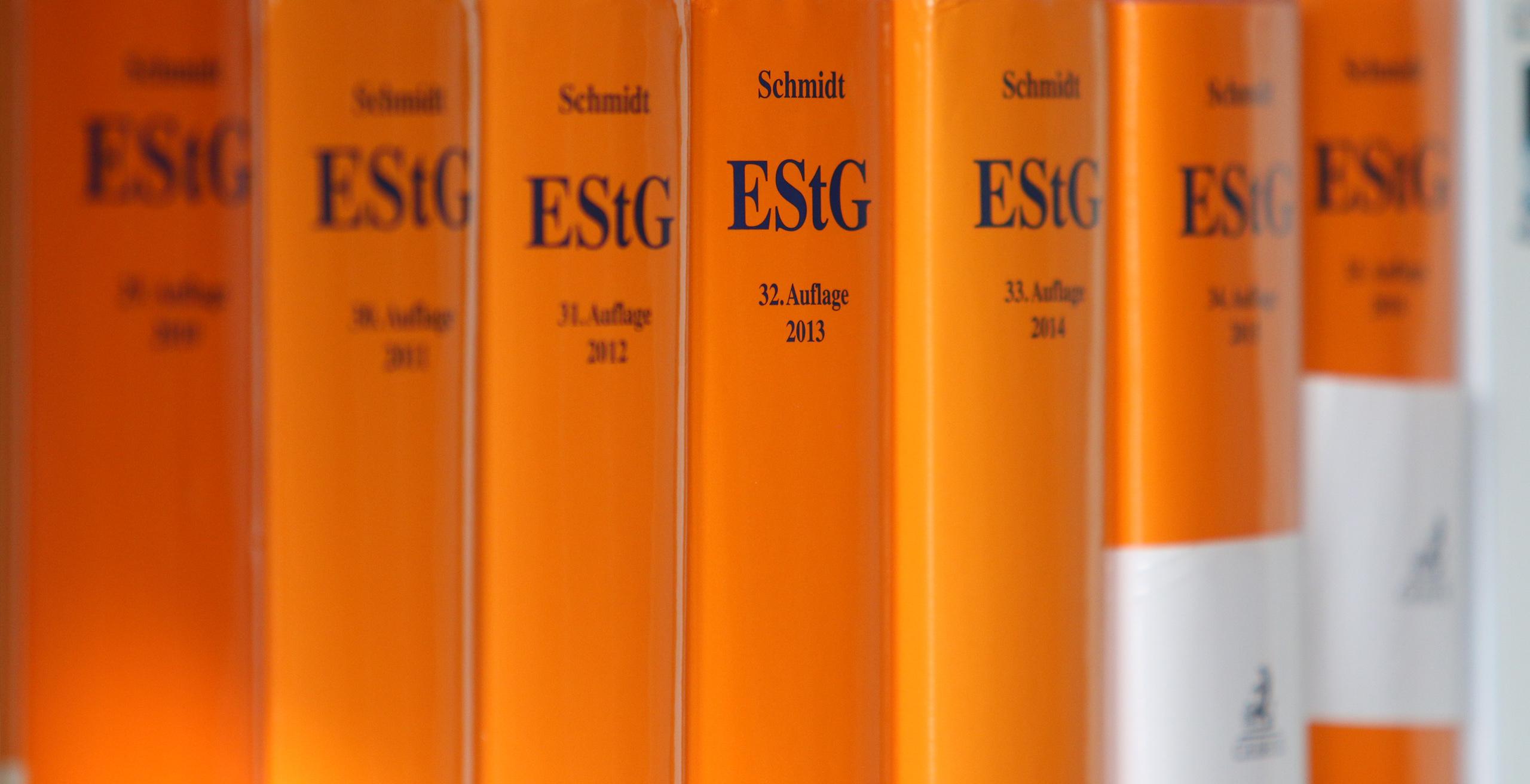 EStG Bücher